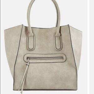 Gray handbag NWT